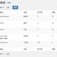 WPJAM Basic 扩展:用户角色