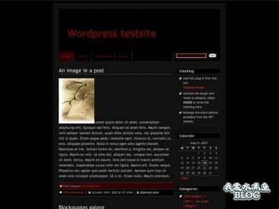 DarkBlix Wordpress Theme