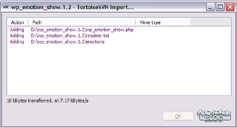 tortoisesvn-importing