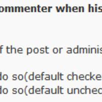 WordPress 留言回复通知插件:Comment Reply Notification