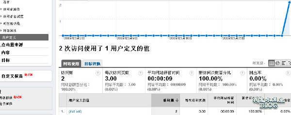 Google Analytics 访问者/用户定义报告