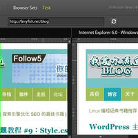 Adobe BrowserLab:在线跨浏览器页面预览工具