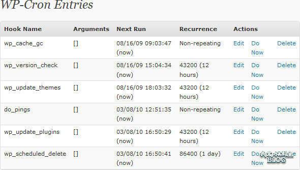 WP-Crontrol:管理和监控定时作业