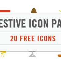 免费圣诞节和新年图标大推荐