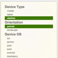 检测设备平台,操作系统,方向 Javascript 库:Device.js
