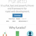 扁平化风格的前端开发框架:Furatto