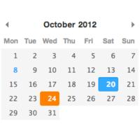JavaScript  日期选择器 Pikaday 简介和使用