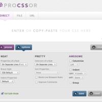 ProCSSor:一个整理 CSS 代码的超棒工具
