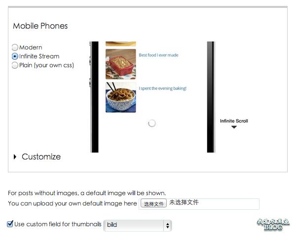 WordPress 相关日志插件主题设置-支持移动设备
