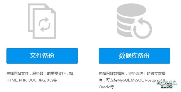 多备份支持网站文件、数据库自动备份;