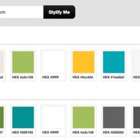 使用  Stylify Me 快速获取一个网站的配色