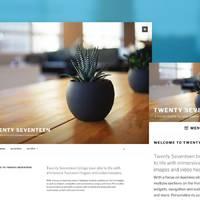 WordPress 4.7 发布:新的 Twenty Seventeen 主题和主题安装初始化内容
