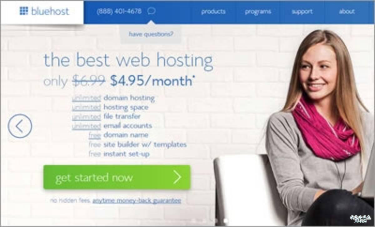 美国虚拟主机推荐:Bluehost