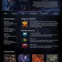 免费的 StarCraft II WordPress 3.0 主题: Enter the Fascinating World!
