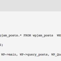 检测 WordPress 运行效率的插件:WPJAM Debug
