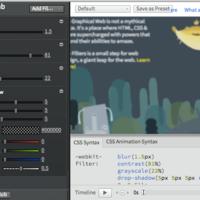 CSS FilterLab:Adobe 创建的 CSS 滤镜设置和演示工具