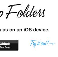 App-Folders:一个模拟 iOS 文件夹效果的 jQuery 插件