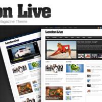 神一样的主题:London Live WordPress Theme