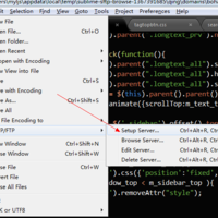 在 Sublime Text 2 中使用 SFTP 插件快速编辑远程服务器文件