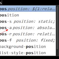 使用 Emmet 提高编写 CSS 的效率