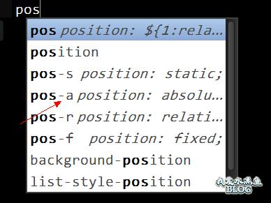 Sublime text 2 快速生成 CSS 代码