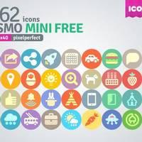 1200 + 免费扁平化图标:Cosmo Mini