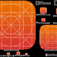 让你快速创建 iOS 7 图标的模板资源