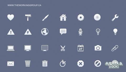 Flat Toolbar Icons