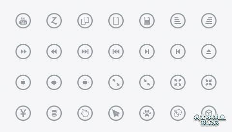Metrize Flat Icons
