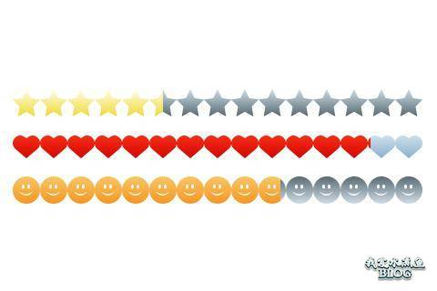 jquery web rating star heart plugin