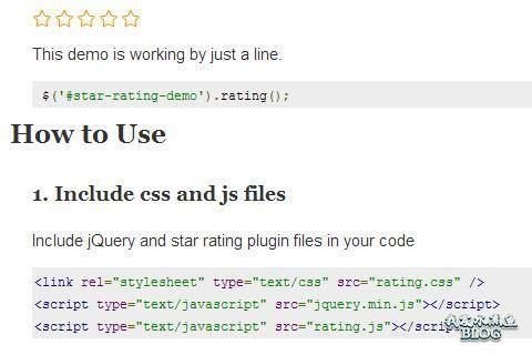 jquery simple star rating plugin github