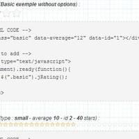 用于用户评分的开源 JavaScript 插件