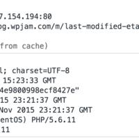 浏览器缓存 Last-Modified / Etag / Expires / Cache-Control 详解