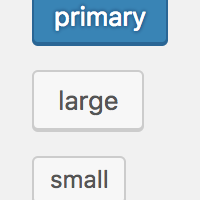 WordPress 后台样式:Button 按钮
